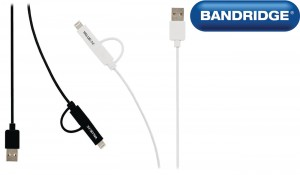 BANDRIDGE VLMP39400 2w1 LIGHTNING i MICRO USB
